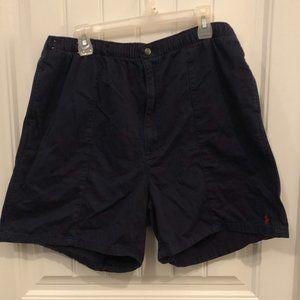 Polo by Ralph Lauren shorts in navy blue; XXL